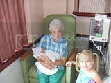 MaMa Silkwood Morghan and MaMa holding Derek